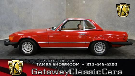 1985 Mercedes-Benz Classics 380SL:24 car images available