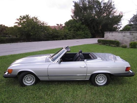 1984 Mercedes-Benz Classics 380SL:20 car images available