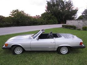 1984 Mercedes-Benz Classics 380SL:20 car images available