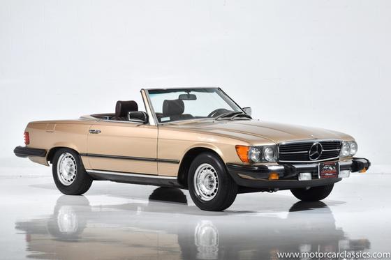 1982 Mercedes-Benz Classics 380SL:24 car images available