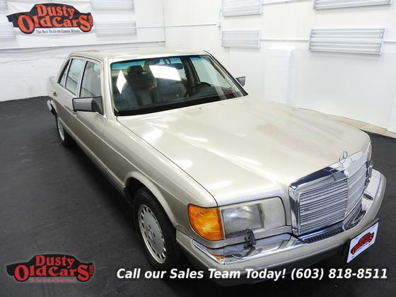 1990 Mercedes-Benz Classics 420SEL:24 car images available