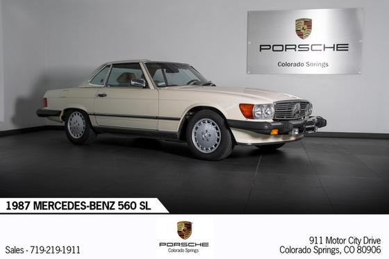 1987 Mercedes-Benz Classics 560SL:20 car images available