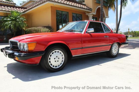 1987 Mercedes-Benz Classics 560SL:24 car images available