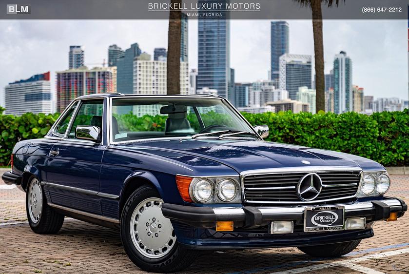 1987 Mercedes-Benz Classics 560SL:24 car images available