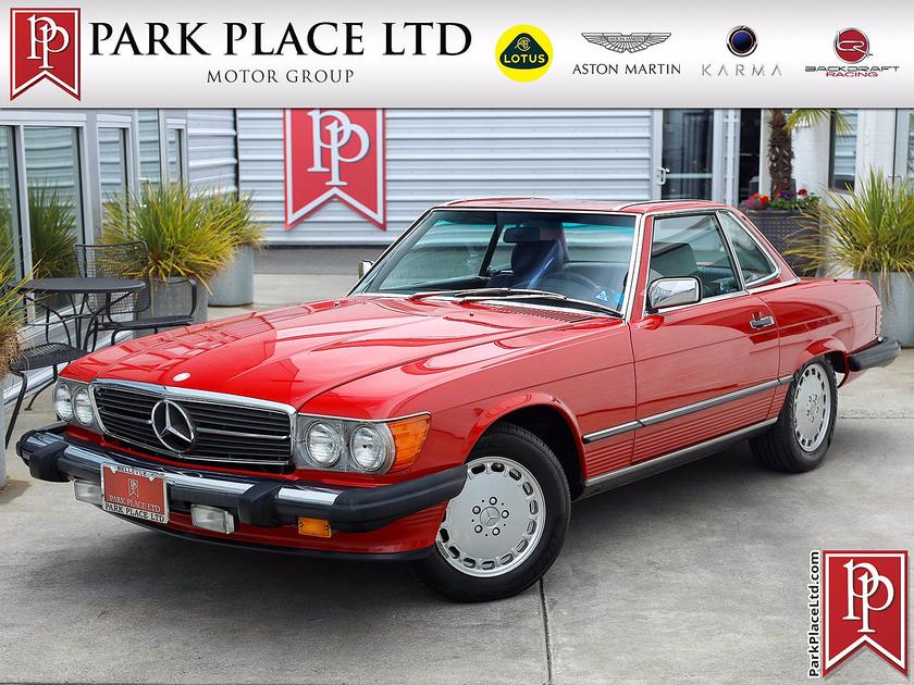 1986 Mercedes-Benz Classics 560SL:24 car images available