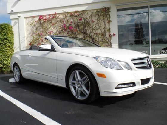 2013 Mercedes-Benz E-Class E350 Cabriolet:12 car images available