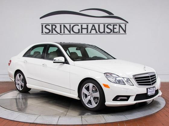 2010 Mercedes-Benz E-Class E350 Sport 4-Matic:21 car images available