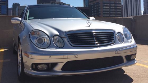 2004 Mercedes-Benz E-Class E55 AMG