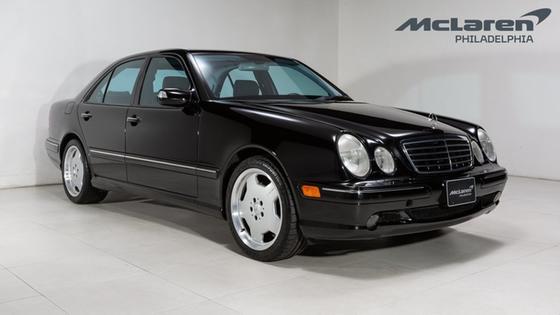 2001 Mercedes-Benz E-Class E55 AMG:22 car images available