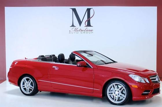 2013 Mercedes-Benz E-Class E550 Cabriolet:24 car images available