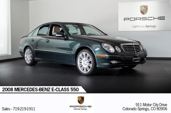 2008 Mercedes-Benz E-Class E550:24 car images available