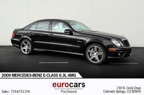 2009 Mercedes-Benz E-Class E63 AMG:24 car images available