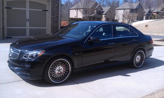 2014 Mercedes-Benz E-Class E63 S AMG 4Matic:9 car images available