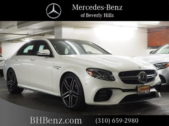 2019 Mercedes-Benz E-Class E63 S AMG 4Matic:11 car images available
