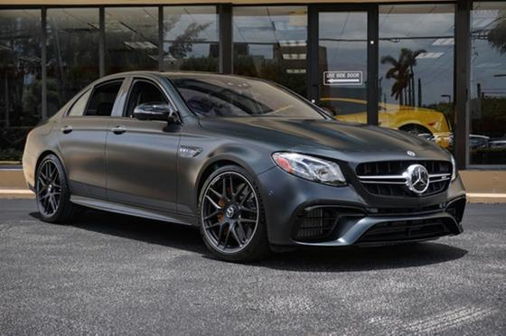 2018 Mercedes-Benz E-Class E63 S AMG:24 car images available
