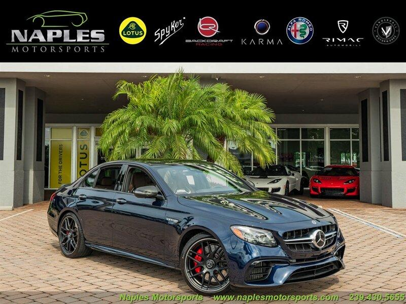 2020 Mercedes-Benz E-Class E63 S AMG:24 car images available