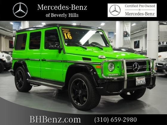2016 Mercedes-Benz G-Class :20 car images available
