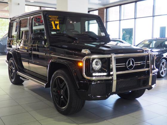 2017 Mercedes-Benz G-Class :20 car images available