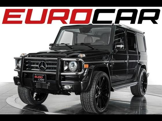 2011 Mercedes-Benz G-Class G550:24 car images available