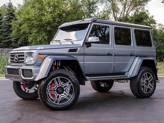 2017 Mercedes-Benz G-Class G550:24 car images available