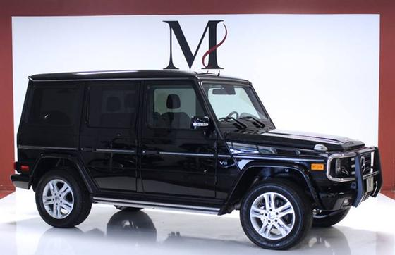 2010 Mercedes-Benz G-Class G550:24 car images available