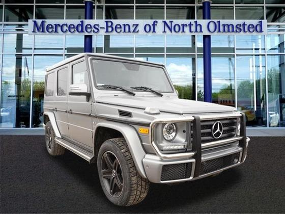2018 Mercedes-Benz G-Class G550:16 car images available