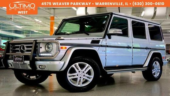 2015 Mercedes-Benz G-Class G550:24 car images available