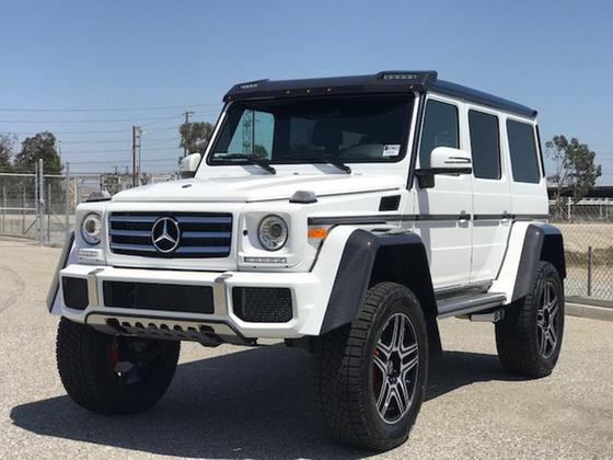 2018 Mercedes-Benz G-Class G550:24 car images available