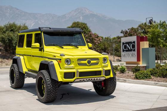 2017 Mercedes-Benz G-Class G550:9 car images available