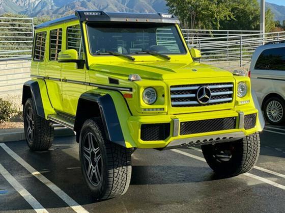2017 Mercedes-Benz G-Class G550:2 car images available
