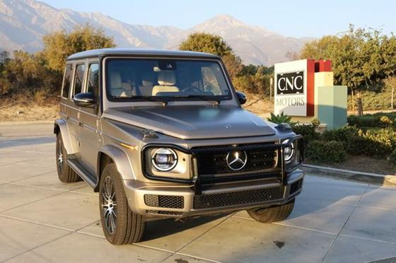 2020 Mercedes-Benz G-Class G550:24 car images available