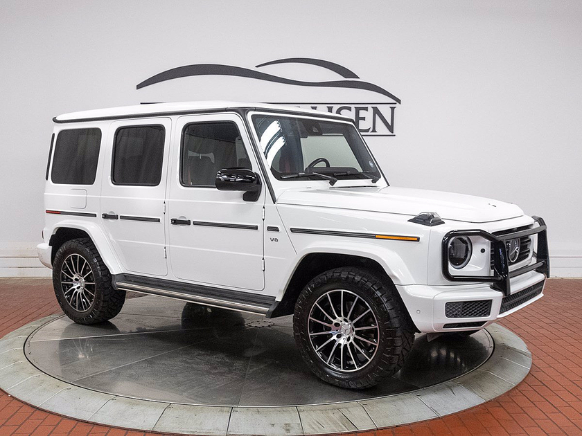2019 Mercedes-Benz G-Class G550:21 car images available