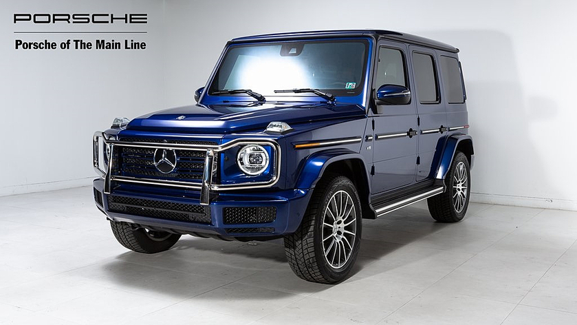 2019 Mercedes-Benz G-Class G550:18 car images available
