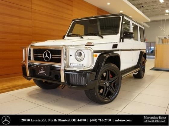 2017 Mercedes-Benz G-Class G63 AMG:24 car images available