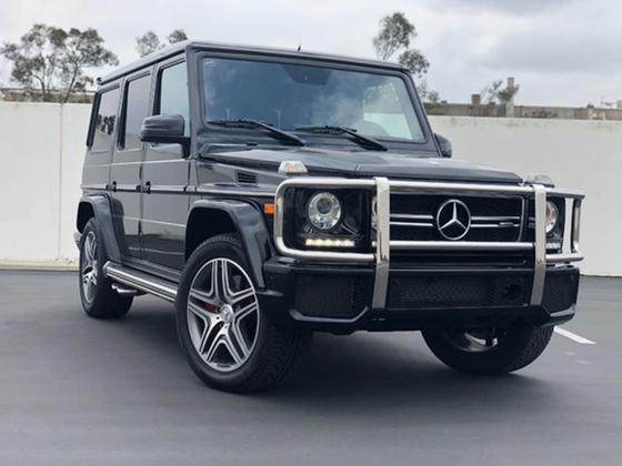 2016 Mercedes-Benz G-Class G63 AMG:12 car images available