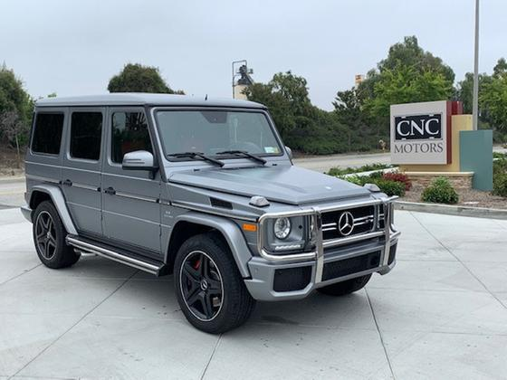2016 Mercedes-Benz G-Class G63 AMG:24 car images available