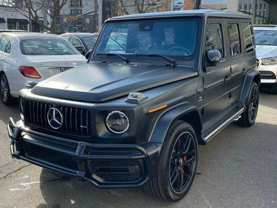 2020 Mercedes-Benz G-Class G63 AMG : Car has generic photo