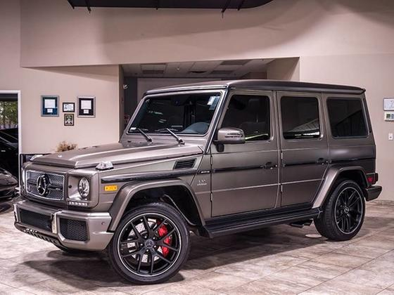 2017 Mercedes-Benz G-Class G65 AMG:24 car images available