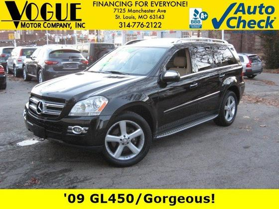 2009 Mercedes-Benz GL-Class GL450:24 car images available