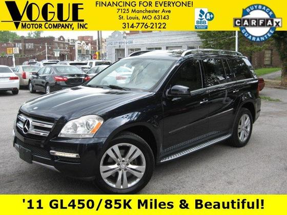 2011 Mercedes-Benz GL-Class GL450:24 car images available