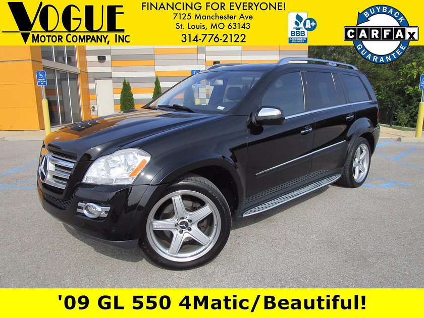 2009 Mercedes-Benz GL-Class GL550:24 car images available