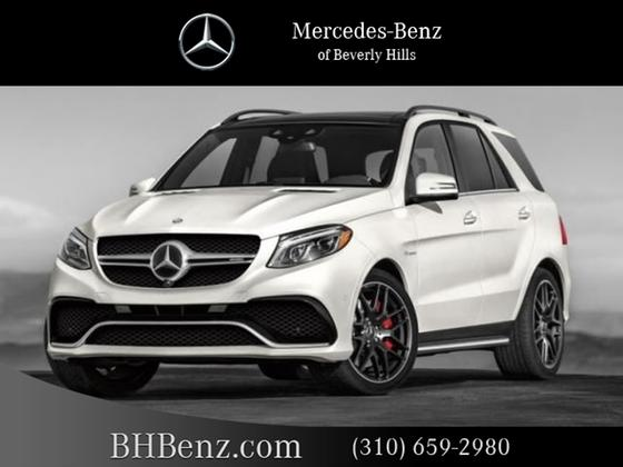 2018 Mercedes-Benz GLE-Class GLE63 AMG : Car has generic photo