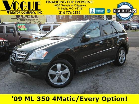 2009 Mercedes-Benz ML-Class ML350 4Matic:24 car images available