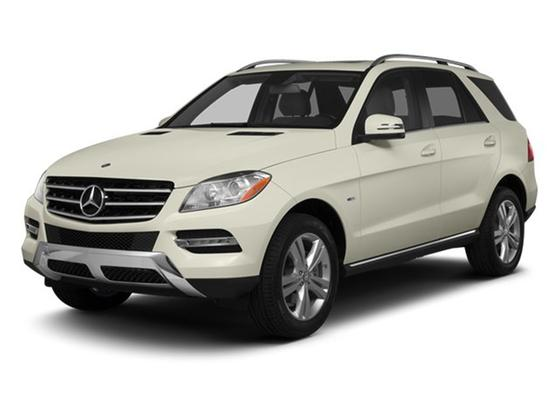 2013 Mercedes-Benz ML-Class ML350 4Matic : Car has generic photo