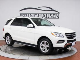 2013 Mercedes-Benz ML-Class ML350 4Matic:21 car images available