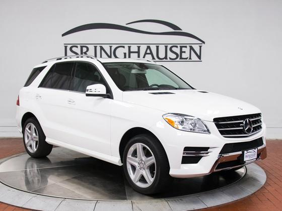 2015 Mercedes-Benz ML-Class ML350 4Matic:21 car images available