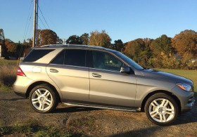 2015 Mercedes-Benz ML-Class ML350 4Matic