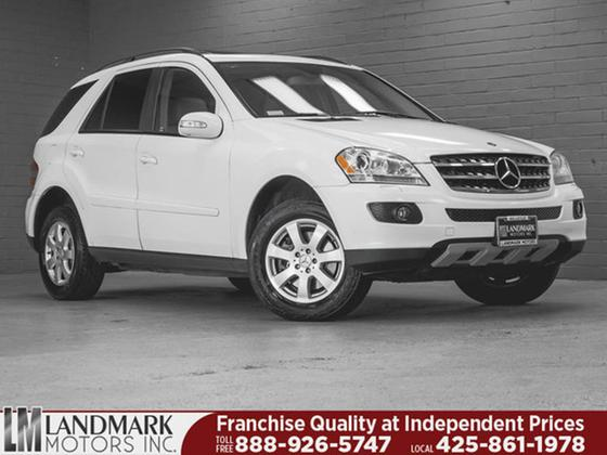 2007 Mercedes-Benz ML-Class ML350 4Matic:24 car images available