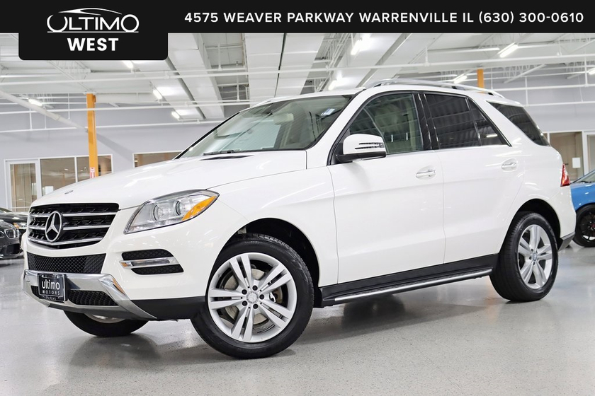 2014 Mercedes-Benz ML-Class ML350 4Matic:6 car images available