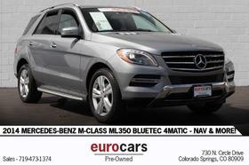 2014 Mercedes-Benz ML-Class ML350 BlueTEC:24 car images available